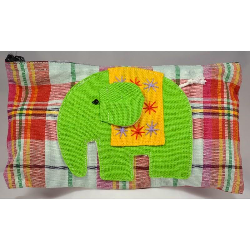HAPPY ELEPHANT grün, verschiedene Variationen