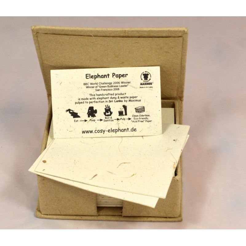 BRASS ELEPHANT BABY notebox