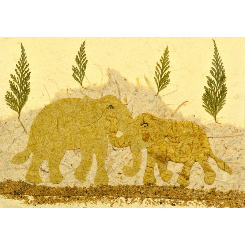 NATURE ELEPHANT single piece 01