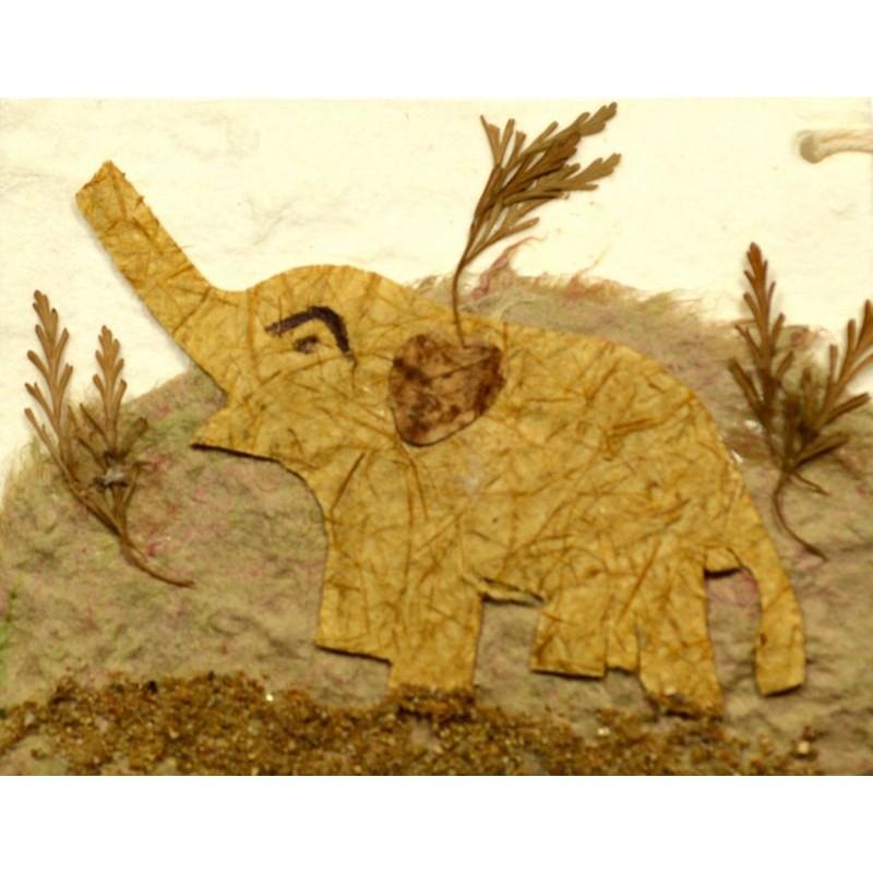 NATURE ELEPHANT 002 Geschenkanhänger