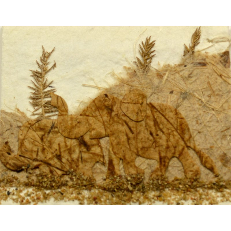 NATURE ELEPHANT 008 Geschenkanhänger