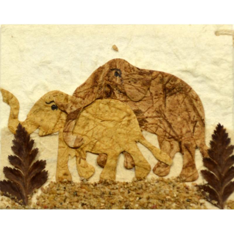 NATURE ELEPHANT 009 Geschenkanhänger