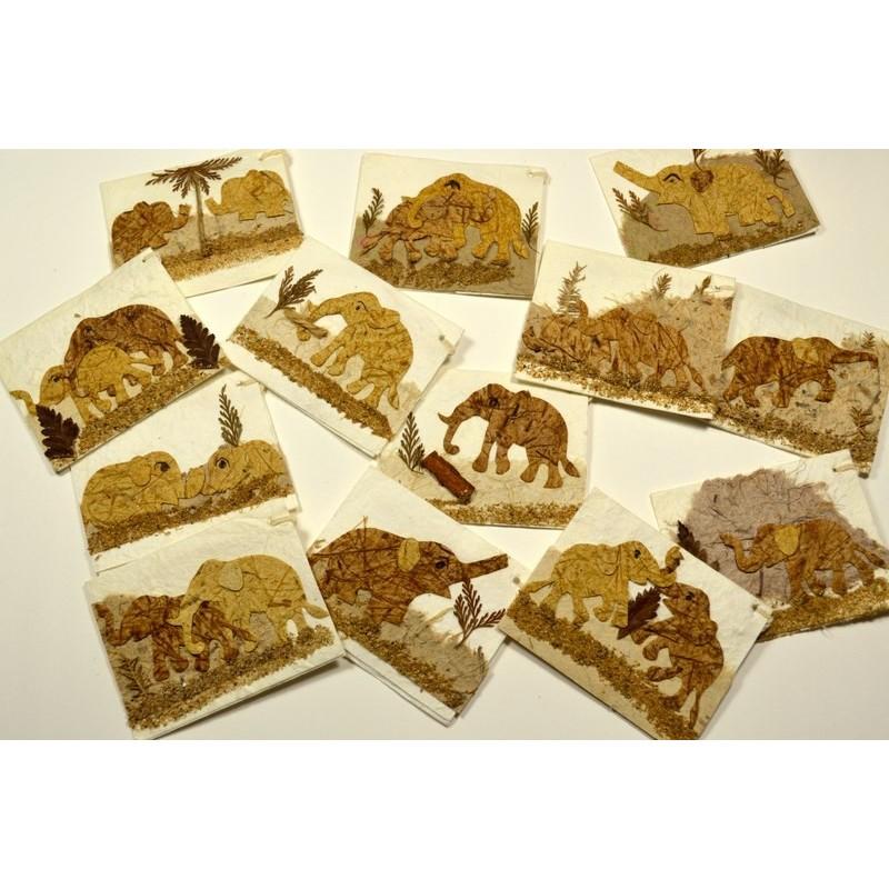 NATURE ELEPHANT 009 gift tag