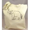 ELEPHANT SHOPPING shopping bag