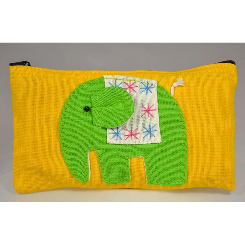 HAPPY ELEPHANT gelber Beutel