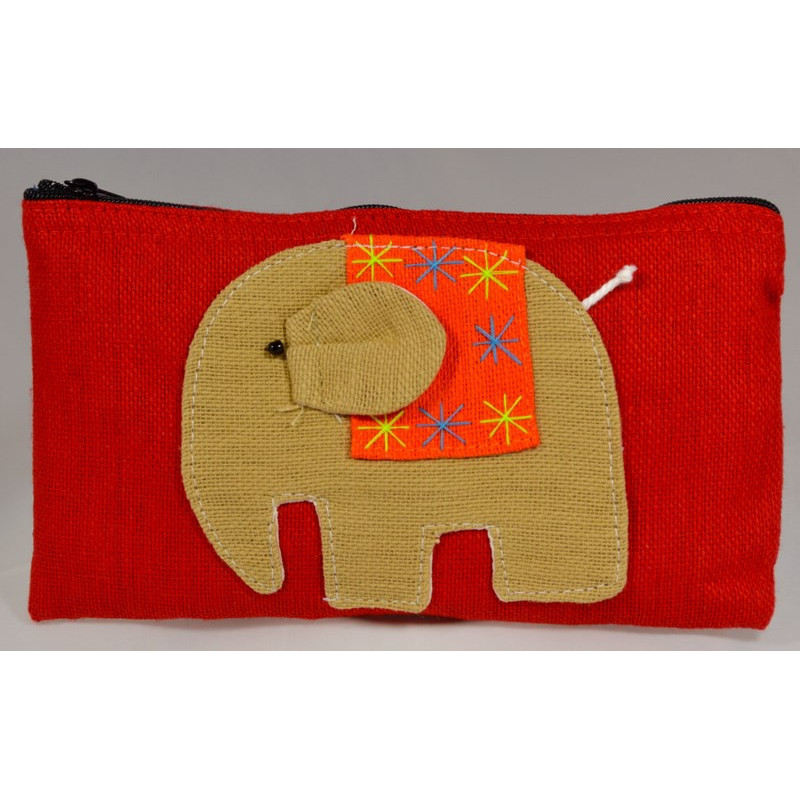 HAPPY ELEPHANT roter Beutel