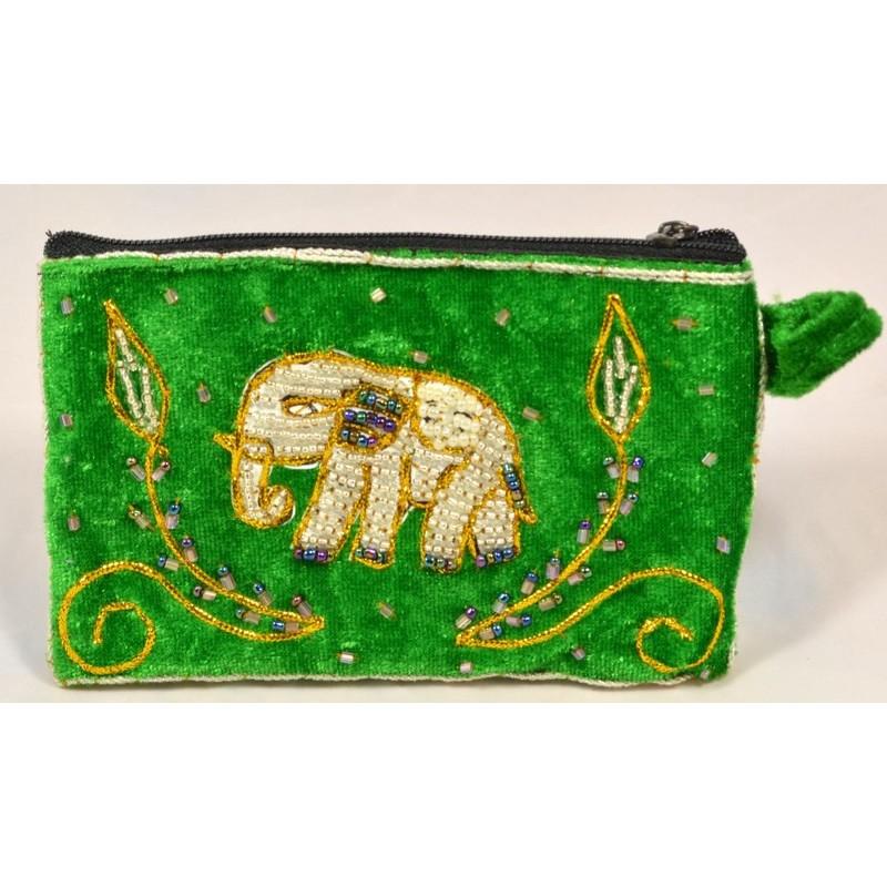 SINGLE BLING BLING ELEPHANT pouch