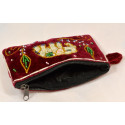 SINGLE BLING BLING ELEPHANT pouch