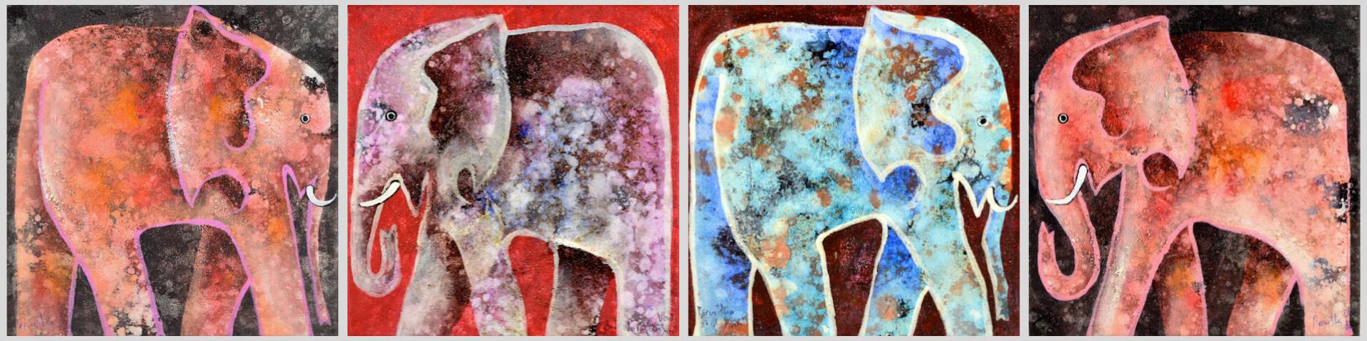 original balinesische Kunstwerke auf cosy elephant