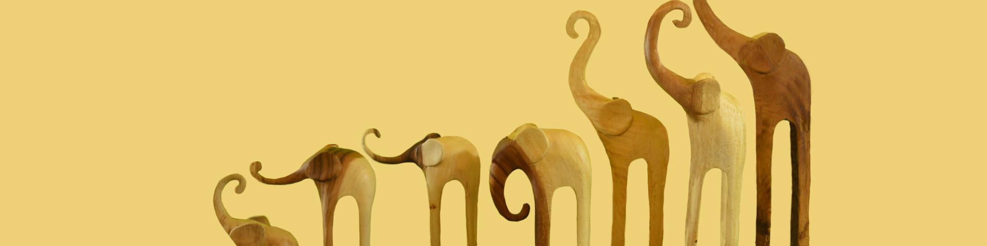 besondere Elefanten Einzelstücke finden